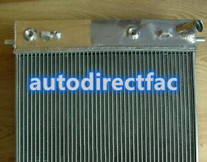 Aluminum Radiator For Chevrolet Corvette C6 Double Oil Cooler 64MM 3 Cores