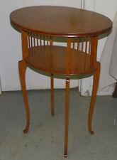 Antique Oval shaped Oak Lamp Table