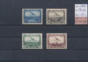 LN51128 Belgium 1930 airmail aviation airplanes fine lot MNH cv 23 EUR