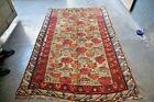 COLLECTORS' PIECE Antique Caucasus Carpet,Gorgeous Very Soft Fine Woven Daghista