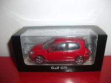 (23.3.15.1) VW Volkswagen Golf V 5 GTI rouge voiture 3 inch inches Norev 1/54