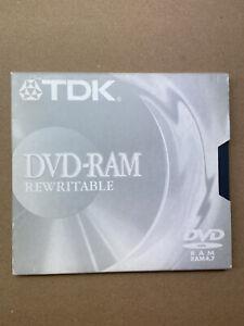 TDK DVD-Ram Rewritable Double Sided 9.4 GB