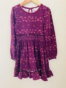 Matilda Jane Choose Your Own Path Apple Cider Dress 6