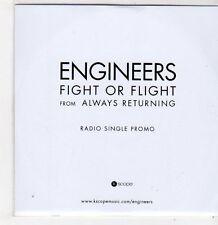(FF838) Engineers, Fight Or Flight - 2014 DJ CD