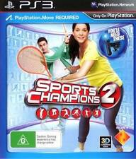 Sports Champions 2 PS3 (Sony PlayStation 3) Brand New SAME DAY POSTAGE
