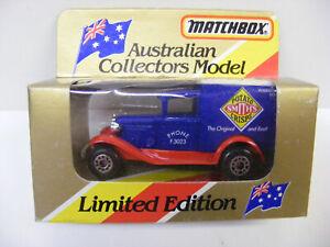 Matchbox Superfast MB38 Ford Model A Smiths Potato Crisps Australian Collectors