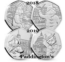 More details for 50p coins paddington bear station palace tower cathedral  albums  beatrix potter
