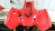 07 08 09 10 11 Suzuki 750 king quad ATV rear back fenders plastics red