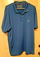 ARCTIC COOL MENS Size 2XL Polo GOLF Shirt Instant Cooling Sun Protection*Blue