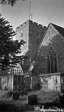 Large B/W Negatives x4 English Churches Kent 1940s +Copyright N67