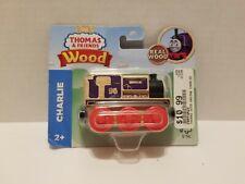 Thomas & Friends Wooden Wood Railway CHARLIE Train Engine Car NEW