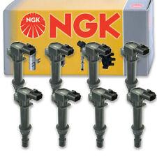 8 pcs NGK 48651 Ignition Coil for U5053 178-8483 UF270T E232 UF270 36-8094 vu