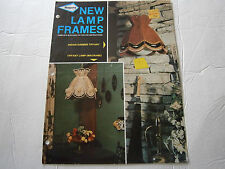Vtg New Lamp Frames Indian Summer Tiffany Macrame Instructions Pattern Booklet