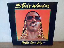 "LP 12 "" STEVIE WONDER - Hotter than july - NM/NM - MOTOWN 1A 062-64121 - HOLLAND"