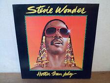 "LP 12 "" STEVIE WONDER - Hotter than july - NM/NM - MOTOWN 1A 062-64121 - HOLLAND"