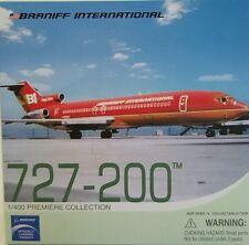 Dragon Wings Braniff International 727-200 GREEN 1:400