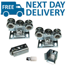 Sliding Gate Kit for 80x80 profile 2x Carriage Wheels / Support roller Set