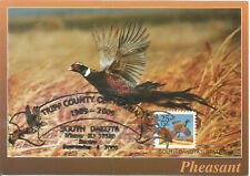 Pheasant Bird Definitive USA Maximum Card