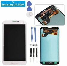 Display LCD für Samsung Galaxy S5 SM-G900F Touch Screen Weiss NEU RV-Parts