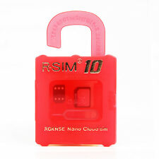 R-SIM 10 RSIM Nano Cloud Sim Card For iPhone 4S 5 5S 5C 6 6P iOS 9.x&8.x&7.x