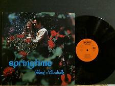 HELMUT AND ELISABETH  Springtime   LP  Xian  UK  Folk  NEAR-MINT  !