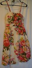 Rue21 Ajustable Spaghetti Strap Floral Dress Size Small
