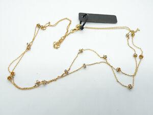 New J Crew Authentic Rhinestone Crystals Gold Tone Designer Jewelry Necklace