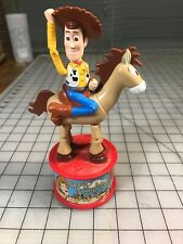 Vintage 1999 McDonalds Toy Story 2 Bullseye Woody's Round Up Candy Dispenser