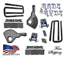 "1987-2004 Dodge Dakota 4WD 3-2"" Lift Kit Torsion Keys Shock Extender Lift Blocks"