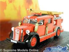 VOLVO B11 MODEL FIRE ENGINE 1:76 SCALE ATLAS IXO RED LADDER PUMP K8