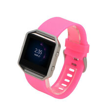 Replacement Silicone Watch Band Bracelet Wrist Strap for Fitbit Blaze+Frame Much