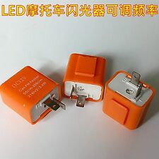 5 sets 12V Motorcycle turn signals LED Flasher Strobe device Small turtle Power