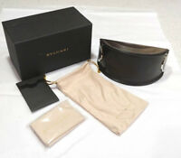 Bvlgari sunglasses case with cloth NEW