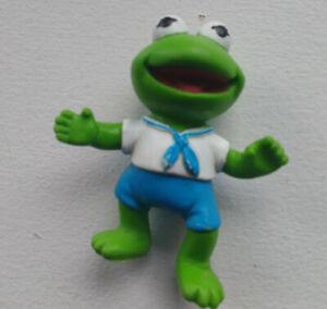 Sesame Street Muppet Babies Kermit The Frog Figure 1986