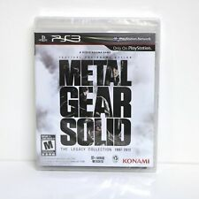 METAL GEAR SOLID - LEGACY COLLECTION - SONY PLAYSTATION 3 PS3 GAME - NEW