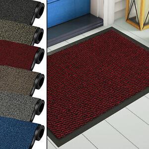 Heavy Duty Non Slip Rubber Barrier Door Mat Hard Wearing Rugs Kitchen Entrance
