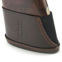 Tourbon Genuine Leather Slip-on Recoil Erase Pad Rifle/Shotgun Buttstock Holder