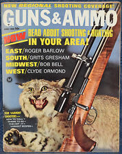 Vintage Magazine GUNS & AMMO June 1966 !!! WALTHER PPK PISTOL !!!