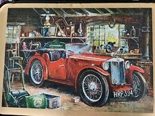 jigsaw puzzles 1000 pieces by Castorland .Vintage Garage