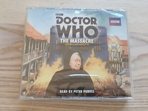 Doctor Who The Massacre 4-Disc CD BBC Audiobook