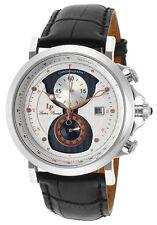 lucien piccard wristwatches lucien piccard pegasus chronograph mens watch lp 40015 02s ra