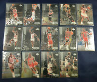 ( 14 ) Card Lot 1999 Upper Deck Black Diamond Set Michael Jordan Bulls HOF