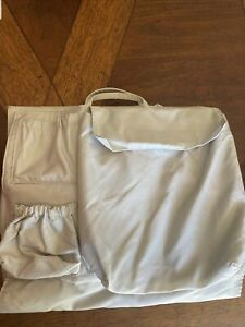Life in Play Tote Savvy Diaper Bag Organizer Insert grey
