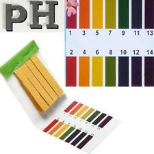 Papier PH Testeur Piscine Aquarium Hydroponique Test de 1 à 14 - 80 Languettes