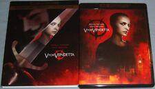 V For Vendetta 2006 4k/Uhd+Blu-Ray+slipcover Natalie Portman/Alan Moore