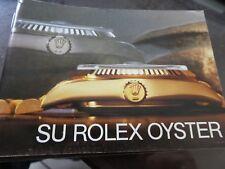 "Vintage & Original ROLEX ""Su Rolex Oyster"" BOOKLET 579.34 Sp. Ca 1984 (39)"