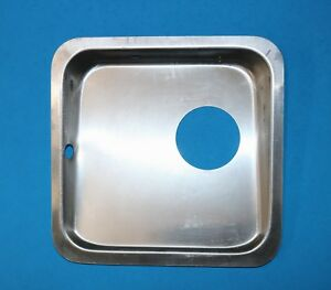 Aeronca Champ Style Magneto Well, Blank Plate for Magneto Switch, Replica Part