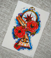 Temporary Tattoos, Body Art ,Tattoo Stickers for Men and Women,fake rose