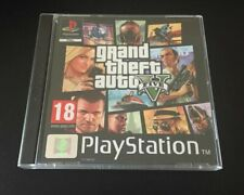 GTA 5 Grand Theft Auto V PS4 Fan Custom PlayStation PS1 Style Covers