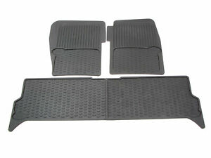 Genuine Land Rover Black Rubber Floor Mats STC50048 for Discovery 2